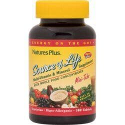 Nature's PlusSource Of Life Multi-Vitamin & Mineral Mini-Tabs