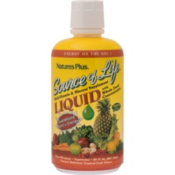 Nature's PlusSource Of Life Liquid Multi-Vitamin & Mineral - Tropical Fruit