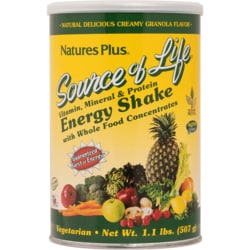 Nature's Plus Source Of Life Energy Shake Natural