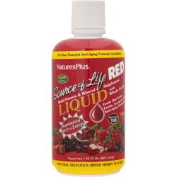 Nature's PlusSource Of Life Liquid Multi-Vitamin & Mineral - Mixed Berry
