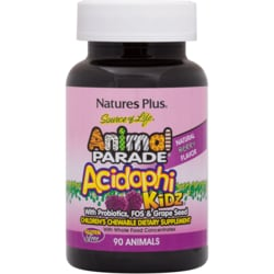 Nature's Plus Animal Parade AcidophiKidz Berry