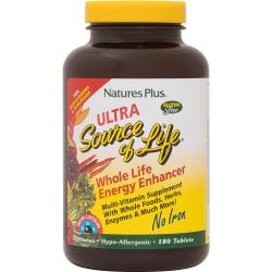 Nature's PlusUltra Source of Life with Lutein No Iron