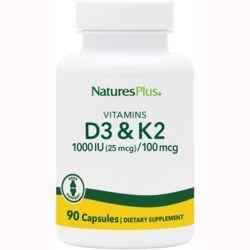 Nature's PlusVitamin D3 & K2