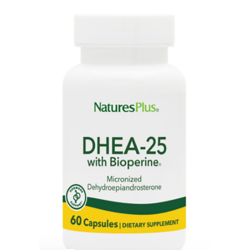Nature's Plus DHEA-25 with Bioperine