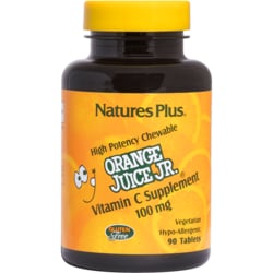 Nature's PlusOrange Juice Jr. Chewable Vitamin C