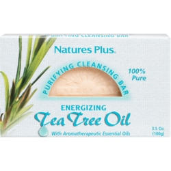 Nature's Plus Tea Tree Oil Purifying Cleansing Bar
