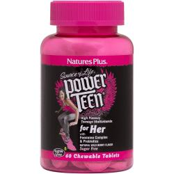 Nature's PlusPower Teen for Her - Natural Wild Berry Flavor