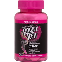 Nature's Plus Power Teen for Her - Natural Wild Berry Flavor