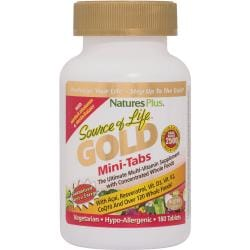 Nature's PlusSource of Life Gold Mini-Tabs