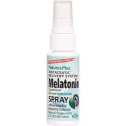 Nature's Plus Lipoceutical Delivery System Melatonin Spray - Peppermint
