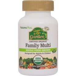 Nature's PlusSource of Life Garden Certified Organic Family Multi
