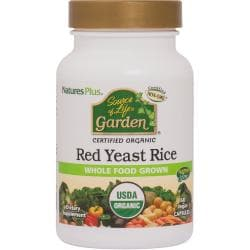 Nature's PlusSource of Life Garden Certified Organic Red Yeast  Rice