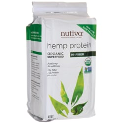 NutivaOrganic Hemp Protein - Hi-Fiber