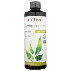 NutivaHemp Oil Organic Superfood Cold Pressed