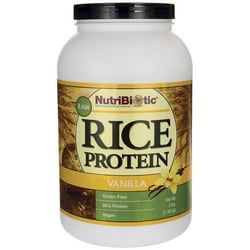 NutriBiotic Raw Rice Protein Vanilla