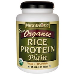NutriBiotic Raw Organic Rice Protein Plain