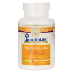 Nutralife Health ProductsVitamin K2 + D3