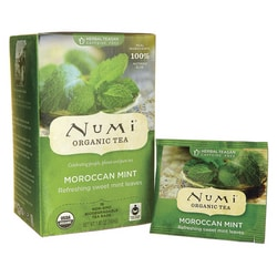 Numi Organic Tea Herbal Teasan - Moroccan Mint