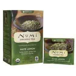 Numi Organic TeaGreen Tea - Mate Lemon