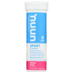NuunActive Electrolyte Enhanced Drink Tablets - Citrus Frui