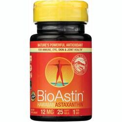 Nutrex Hawaii Bioastin Hawaiian Astaxanthin 12 Mg 25 Gcaps