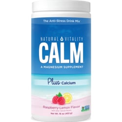 Natural VitalityNatural Calm Plus Calcium Raspberry Lemon Flavor