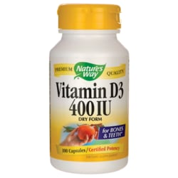 Nature's WayDry Vitamin D