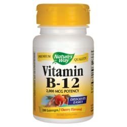 Nature's WayVitamin B-12 - Cherry Flavor