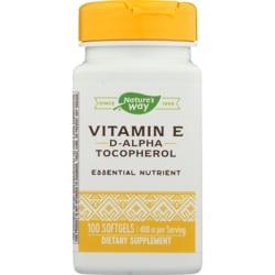 Nature's Way Vitamin E 400 d-alpha Tocopherol