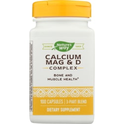 Nature's Way Calcium, Magnesium & Vitamin D