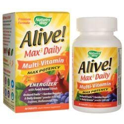 Nature's WayAlive! Max 3 Daily Multi-Vitamin