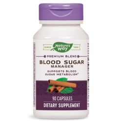 Nature's WayBlood Sugar Metabolism Blend with Cinnamon & Gymnema