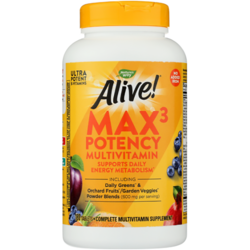 Nature's WayAlive! Max3 Daily Multi-Vitamin