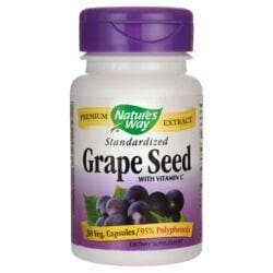 Nature's WayStandardized Grape Seed with Vitamin C