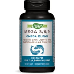 Nature's WayFully Balanced Mega 3/6/9 Omega Blend - Lime Flavor