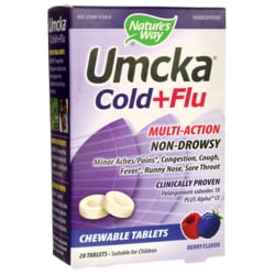 Nature's WayUmcka Cold & Flu - Berry Flavor