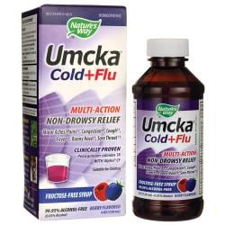 Nature's WayUmcka Cold & Flu Syrup - Berry