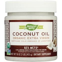 Nature's Way Aceite de coco orgánico extra virgen