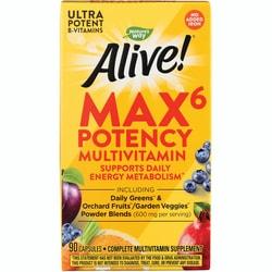 Nature's Way Alive! Max6 Daily Multi-Vitamin
