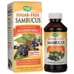 Nature's Way Sambucus Sugar-Free Syrup