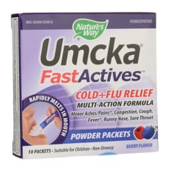 Nature's Way Umcka Cold+Flu FastActives Berry