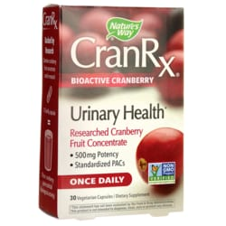 Nature's WayCranRx BioActive Cranberry