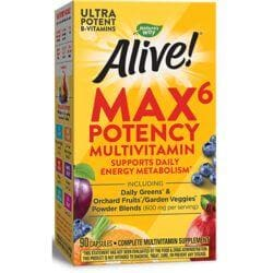 Nature's WayAlive! Max 6 Daily Multi-Vitamin