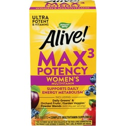 Nature's WayAlive! Max 3 Daily Women's Multi-Vitamin