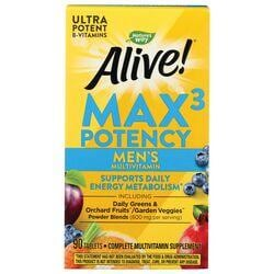 Nature's WayAlive! Max 3 Daily Men's Multi-Vitamin