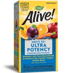 Nature's Way Alive! Once Daily Men's 50+ Ultra Potency