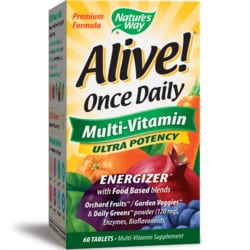 Nature's WayAlive! Once Daily Multi-Vitamin Ultra Potency