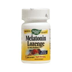 Nature's WayMelatonin Lozenge - Fruit Flavor