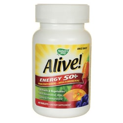 Nature's WayAlive! Energy 50+ Multivitamin Multimineral