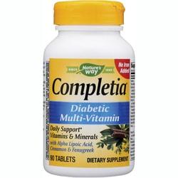 Nature's Way Completia Diabetic Multivitamin Iron Free